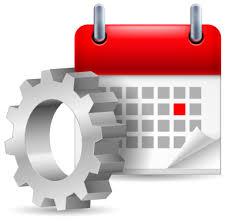 Scheduled website maintenance service icon