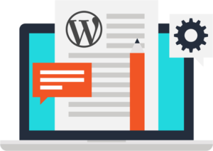 WordPress theme customization icon