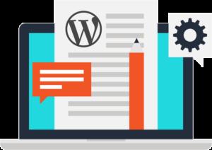 WordPress theme customization icon